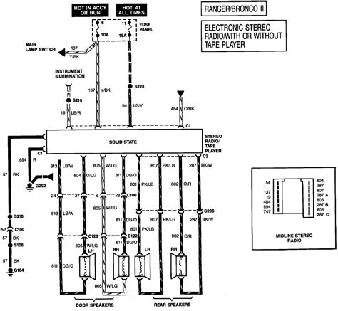 Need The Wiring Diagram For Factory Stereo