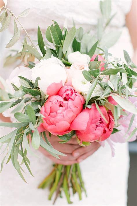 Blush Coral Downtown Columbus Wedding Flower Bouquet