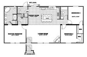 manufactured home floor plan 2010 clayton colonial 38col28563ah10
