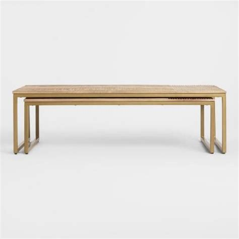 Delivering products from abroad is always free, however, your parcel may be subject. Mango Wood Lara Nesting Coffee Tables Set of 2   Nesting coffee tables, Oversized coffee table ...