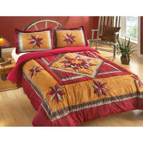 castlecreek desert star chenille comforter set 226567