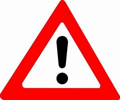 Warning Sign Clipart Risk