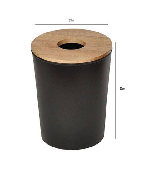 poubelle en bois cuisine poubelle salle de bain bois les 25 meilleures id es de