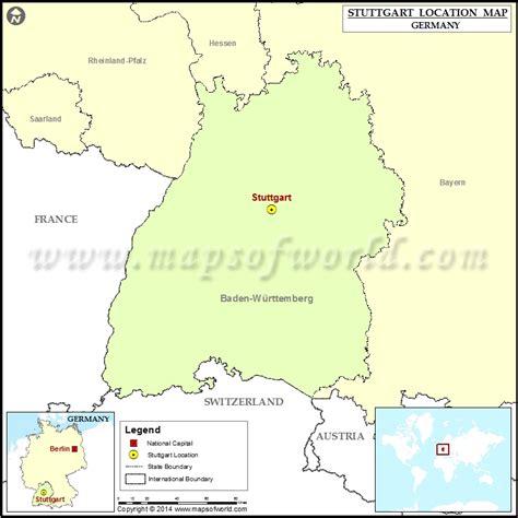 stuttgart on map where is stuttgart location of stuttgart in germany map
