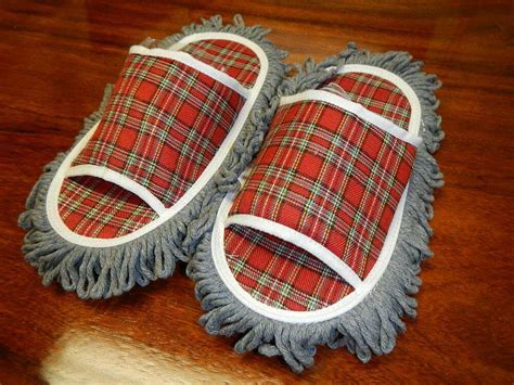 Cleaning Slippers, perfect for wood, tile floors. Dust or