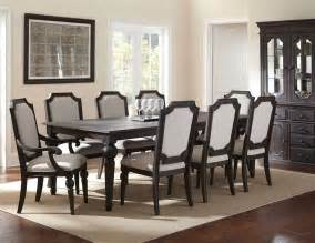 Formal Dining Room Set Wood Formal Dining Room Table Set W China Cabinet Distressed 10 Pcs Ebay