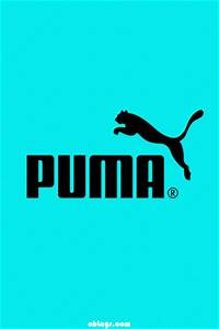 Teal Puma iPhone Wallpaper | #1208 | ohLays