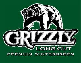 Grizzly Wintergreen Long Cut Logo