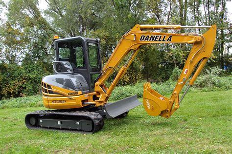 mini excavator danella companies