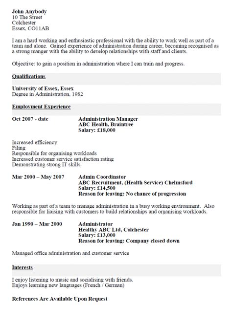 Cv Resume by Cv Resume Cv