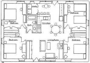 four bedroom house floor plans farmhouse plans 4 bedroom house plans