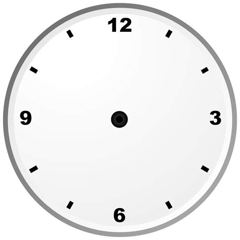 Clock Template Free And Printable Clock Faces Templates Activity Shelter