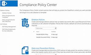 overview of document deletion policies in sharepoint With documents and records management compliance