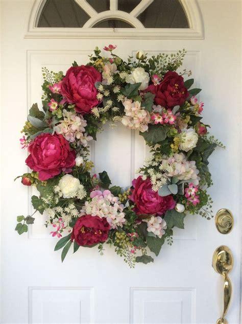 Spring Wreaths Hydrangea Wreath Valentines Wreath Spring