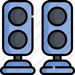 Icon Speakers Premium Lineal Icons
