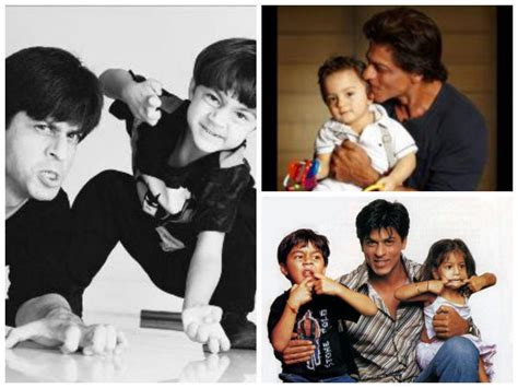 Rare And Unseen Pics Of Shahrukh Khan With His Three Kids