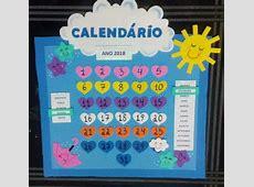 Calendário em EVA Tema