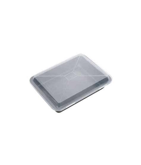 baking sheet deep plastic lid sold delicia tescoma