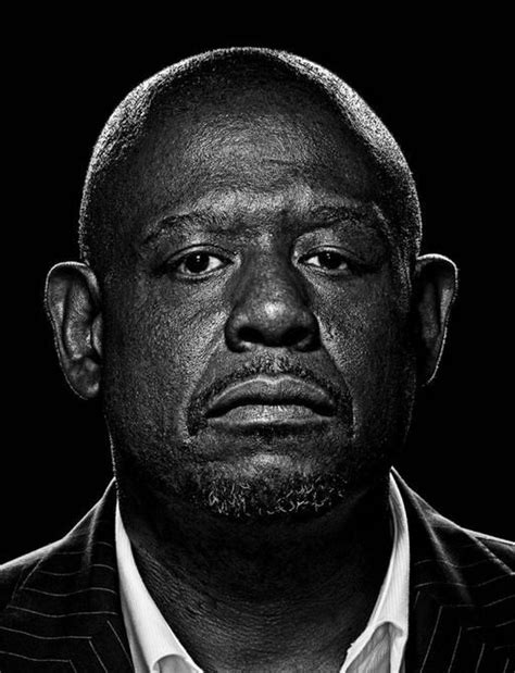 Pin D Iconic Black White 01 forest whitaker homosapien in 2019 black actors