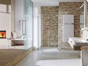 Parement Salle De Bain : salle de bain avec pierre de parement fashion designs ~ Dailycaller-alerts.com Idées de Décoration