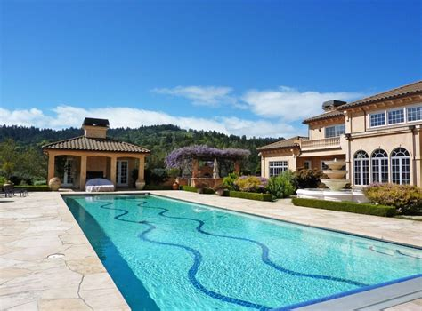 large homes for sale cheap extraordinary home of the week 40 acre st helena vineyard california home