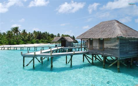 Tapeta Maledivy