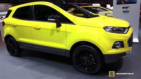 ford ecosport titanium s 2016 ford ecosport titanium s exterior and interior walkaround 2016 geneva motor show