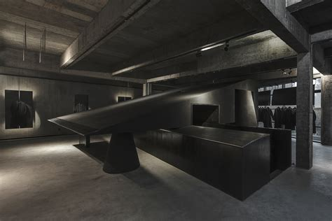 Gallery of Hangzhou AN Interior's Black Cant System Named