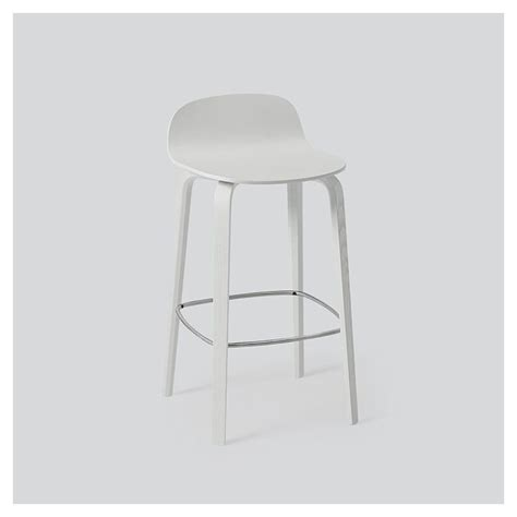 chaise muuto visu tabouret de bar en bois chaise de bar muuto
