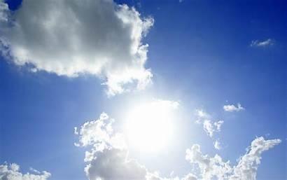 Sky Sun Clouds Wallpapers Backgrounds Desktop Right