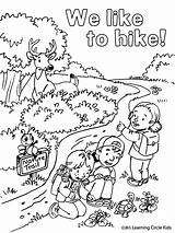 Coloring Pages Summer Fun Bee Camping Hiking Printable Friends Reader Preschool Printables Cool Sheets Scouts Ak0 Camp Books Scout Hikers sketch template