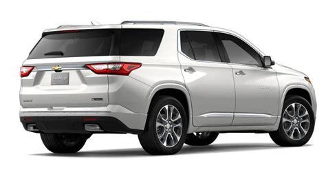 New Suv 2018 Iridescent Pearl Tricoat Chevrolet Traverse