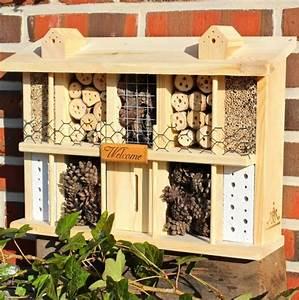 Nistkasten Bauen Kinder : insektenhotel bausatz mit bauanleitung selbst ein wundersch nes insektenhotel bauen ~ Orissabook.com Haus und Dekorationen