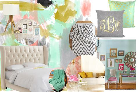 pink and mint green bedroom inspiration for a gold pink and mint bedroom home 19454 | 6ba24c88e7ac2acd4b2cfdb126a257f6