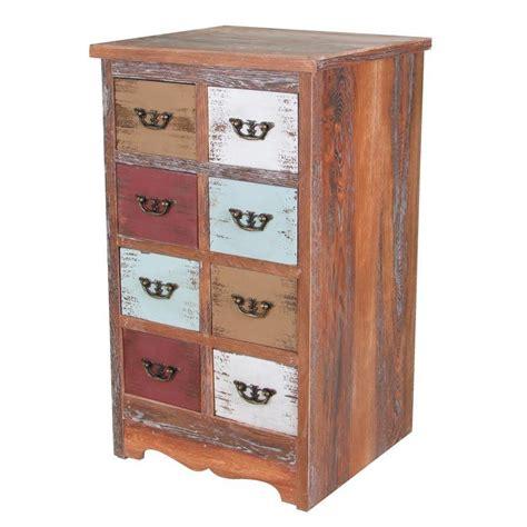 vintage holz kaufen vintage holz kommode shabby 8 schubladen sideboard schrank anrichte standschrank kaufen bei
