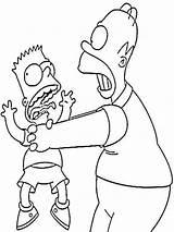 Simpsons Coloring Ausmalbilder Cool Cartoon Inspirational Malvorlagen Ausdrucken Kostenlos Zum Sheets Bing sketch template