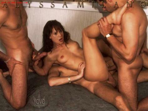 Celebrity Alyssa Milano Fucked Like A Real Slut Pichunter