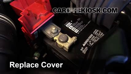 Battery Replacement Mitsubishi Outlander Sport