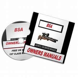 Bsa Airgun Air Rifle Gun Owners Manuals Exploded Diagrams Service Maintenance And Repair