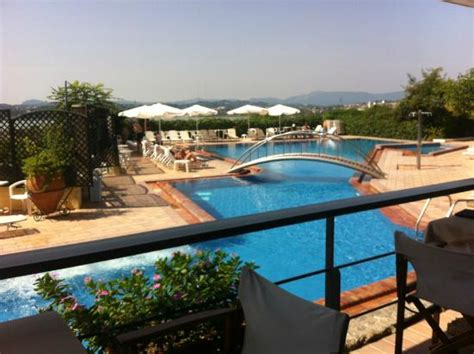 Divani Corfu Palace by The Swimming Pool View From The Restaurant Picture Of