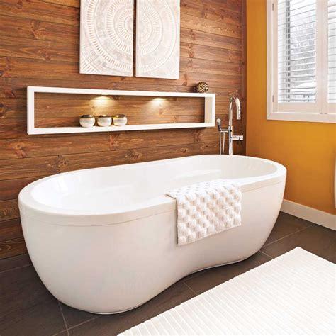 chambre en merisier jeux de contrastes dans la salle de bain salle de bain