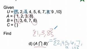 2 3 Venn Diagrams And Set Operations