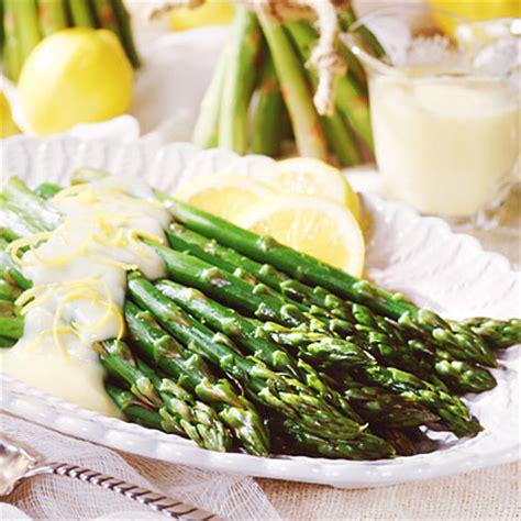 mock hollandaise sauce asparagus with mock hollandaise sauce recipe myrecipes