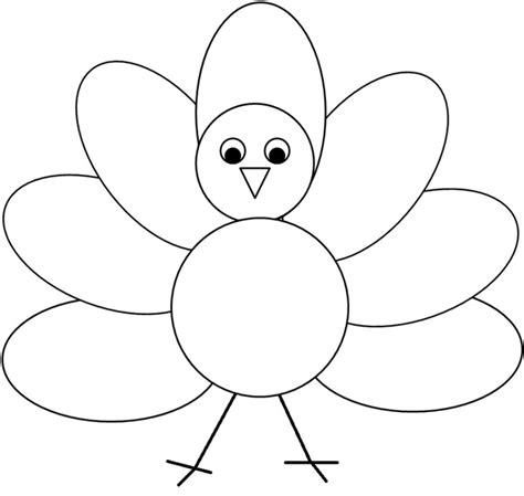 turkey template clipart turkey template clipart clipart suggest