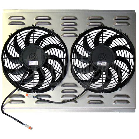electric fan with shroud northern factory dual 11 quot electric fan shroud 17 1 2