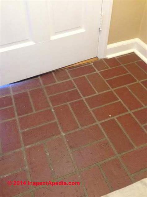 ken tile south brick pattern floor tile with low asbestos content c