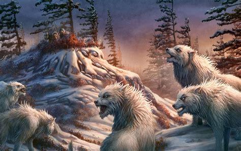 desktop hd wolf fantasy images
