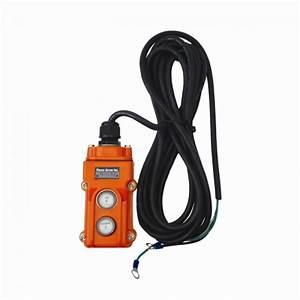 Winch Remote  2 Button Vulcanized Plug  Cp271