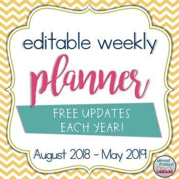 weekly teacher planner calcasieu parish school board cpsb tpt