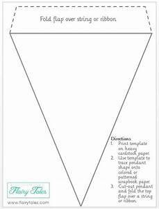 http wwwflairytalescom make your own pennant banner With triangle letter banner